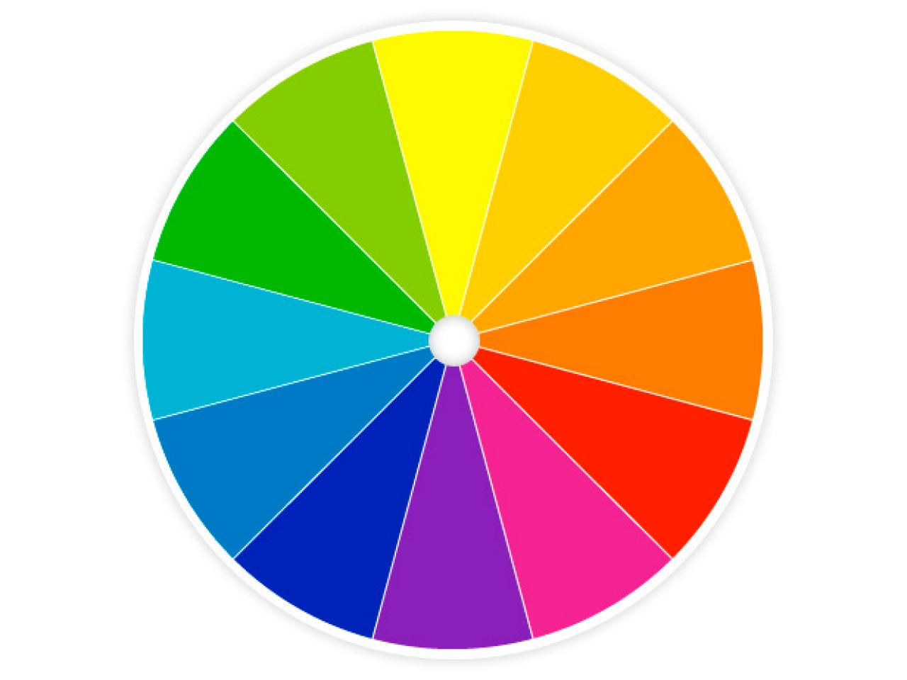 Color wheel generic image