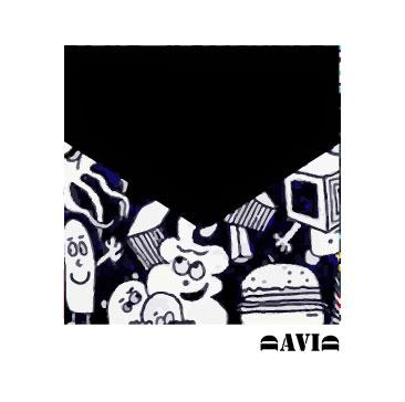 Abstract B&W art