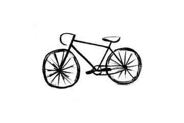 Drawing from imagination a bike