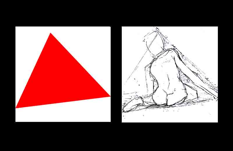 The pyramid structure