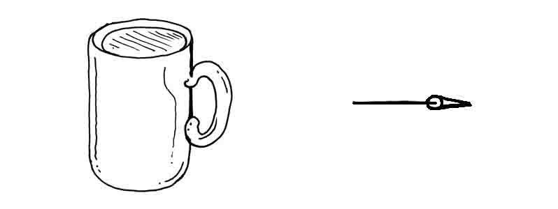How to draw a coffee mug David Lagesse