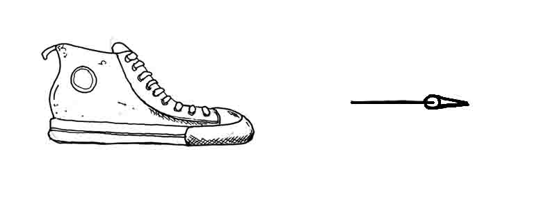 How to draw a shoe David Lagesse
