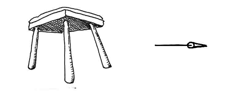 How to draw a stool David Lagesse