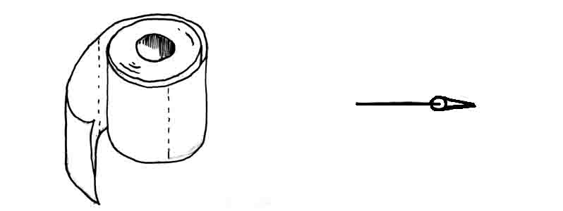 How to draw toilet roll at homeDavid Lagesse