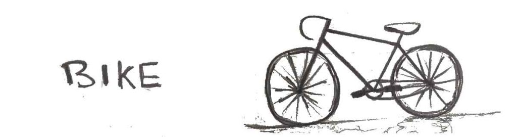 Learn how to draw a bike in 36 hours