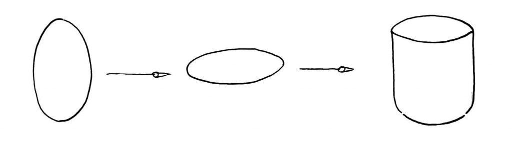 Learn how to draw an ellipse and cyclinder