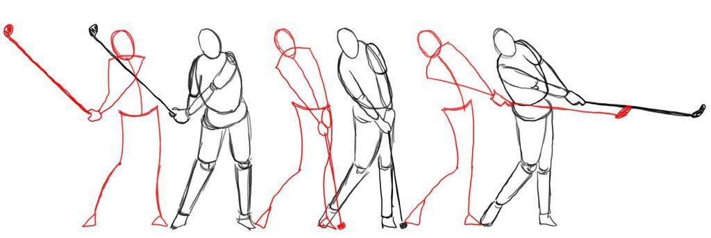 Action drawing fundamentals